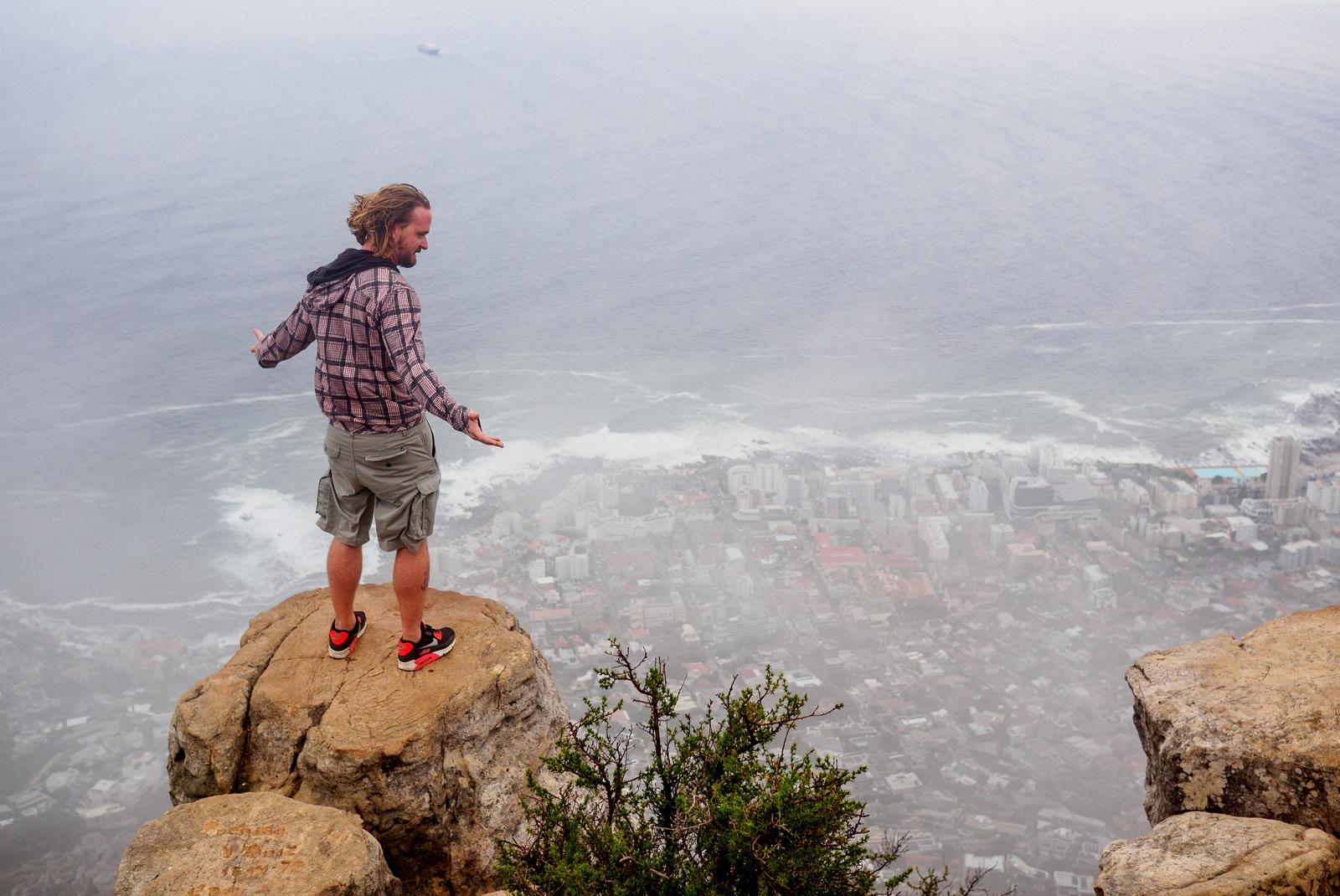 Climbing Lions Head