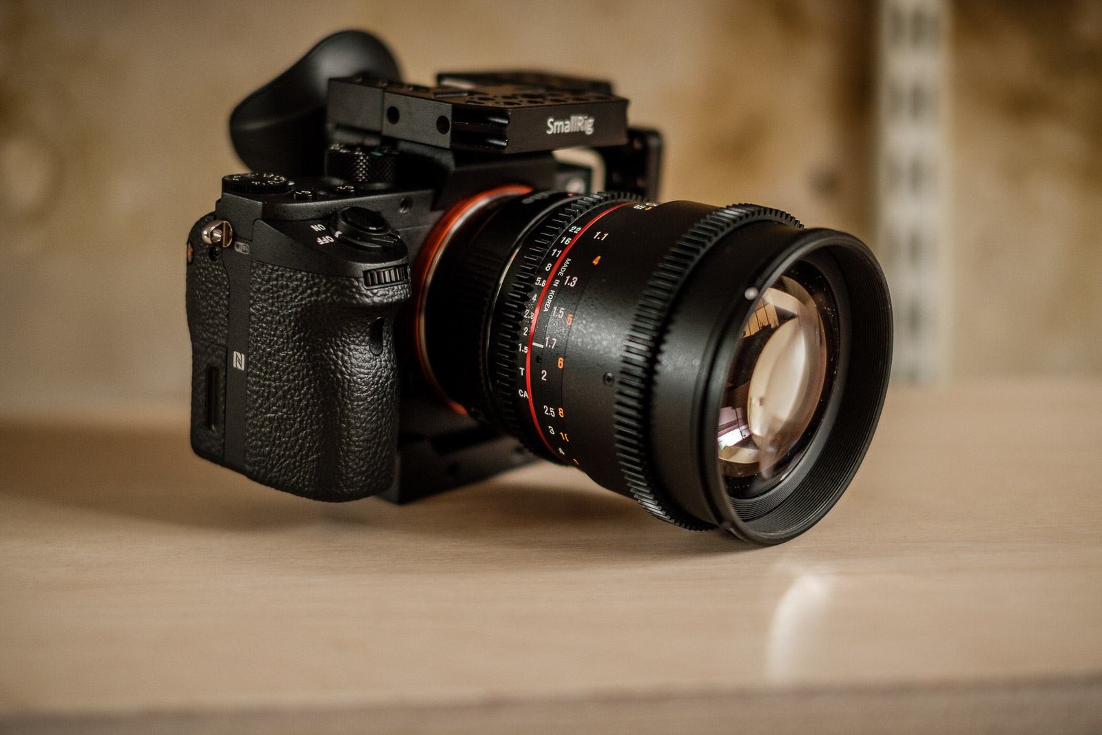 Build Your Story: Shooting film with the Samyang 85mm T1.5
