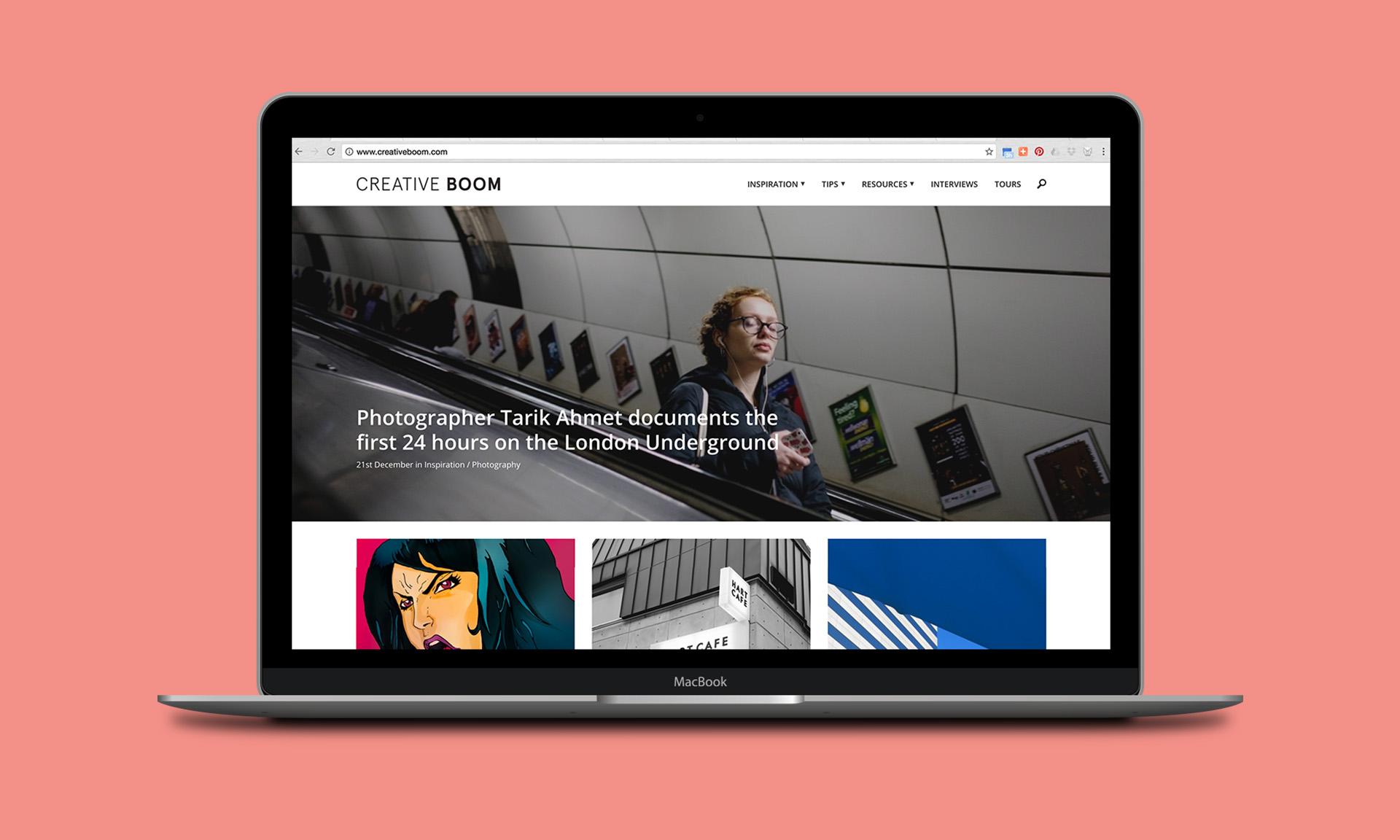 Creative Boom Magazine Feature