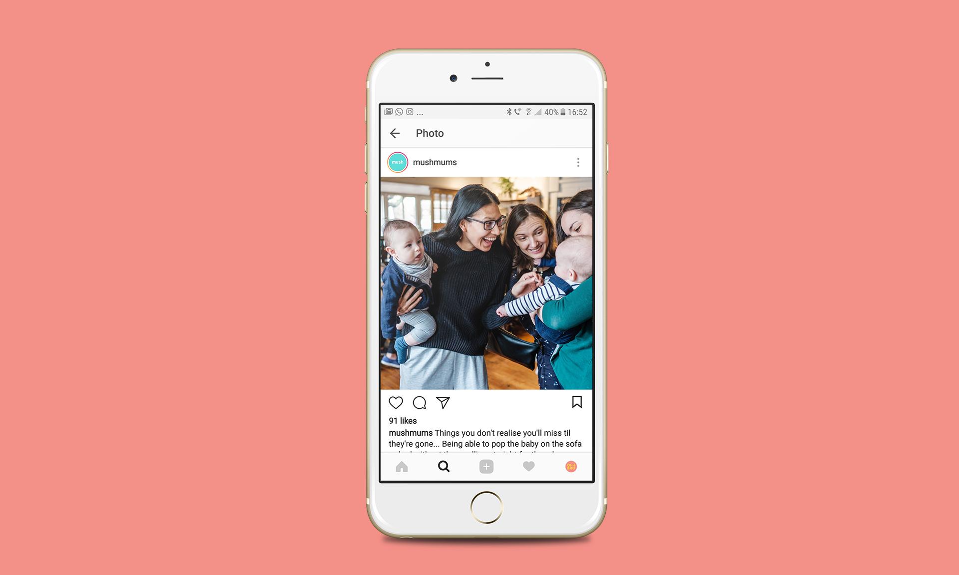 MUSH Instagram App
