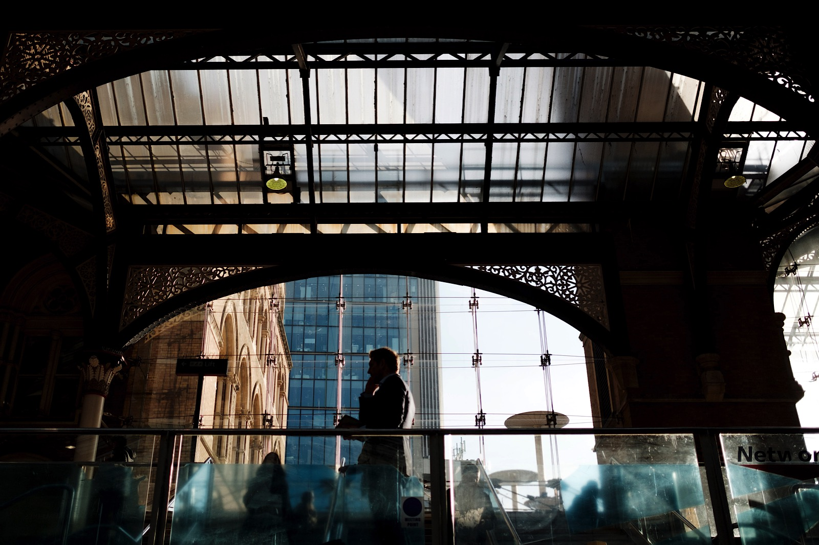 Street photography at Liverpool Street Stations