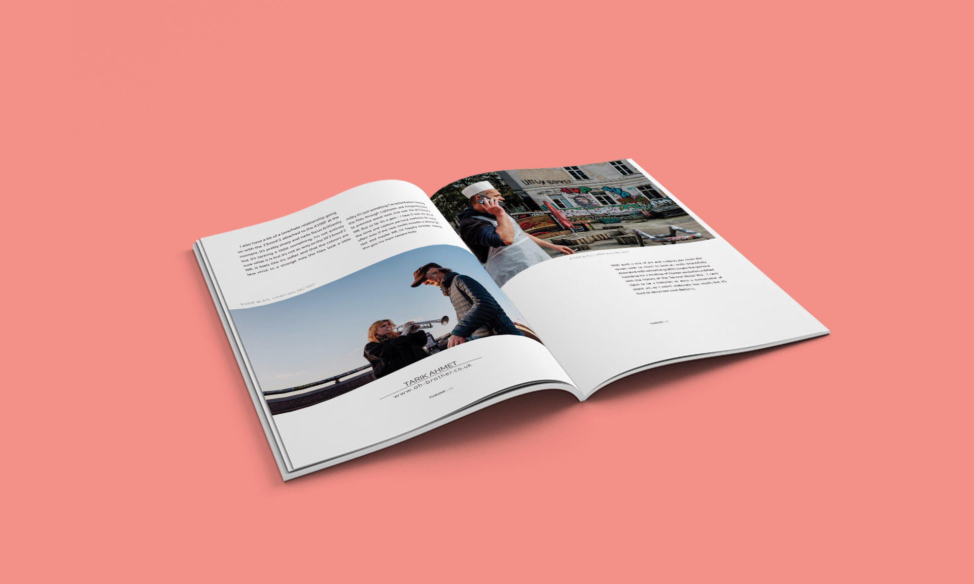 Berlin magazine mockup